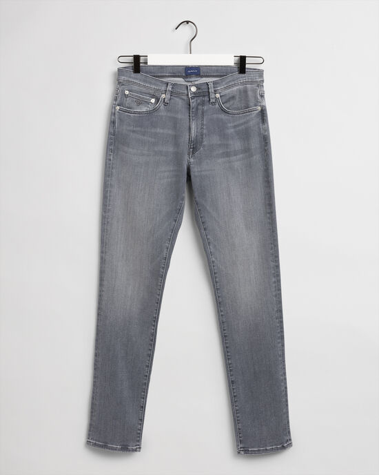 Maxen Extra Slim Fit Active-Recover grijze jeans