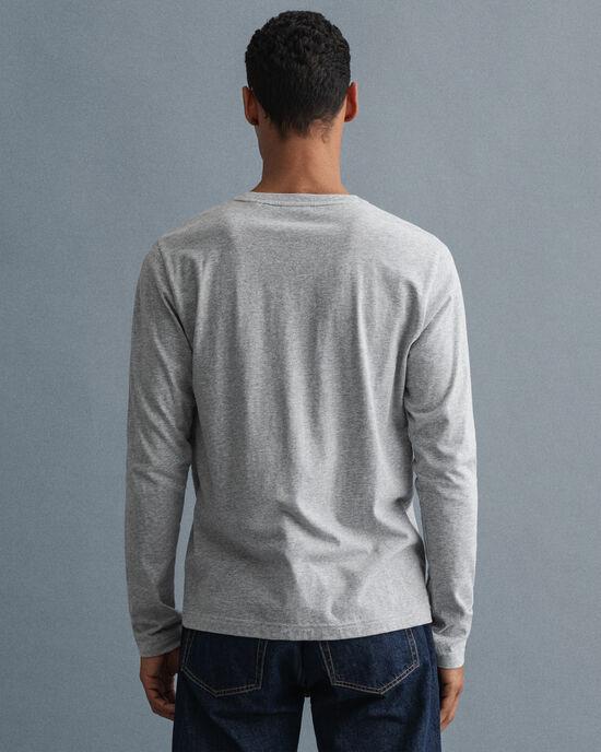 Archive Shield T-shirt met lange mouwen