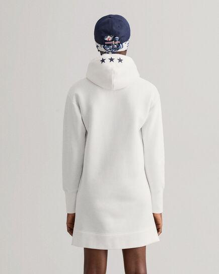 Robe à capuche Retro Shield