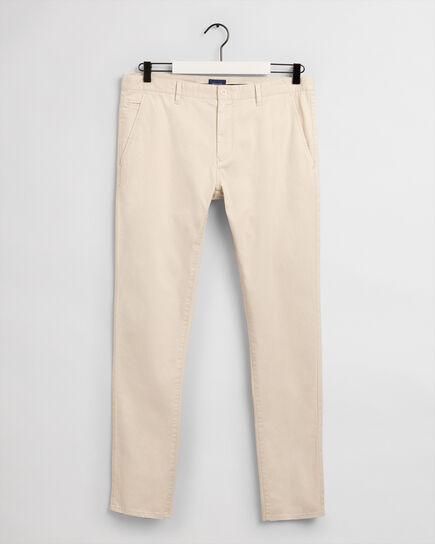 Pantalon chino Extra Slim Fit brossé Molsey