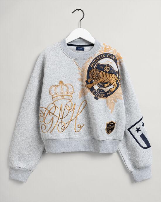 Teen Girls US Royalty sweatshirt met ronde hals