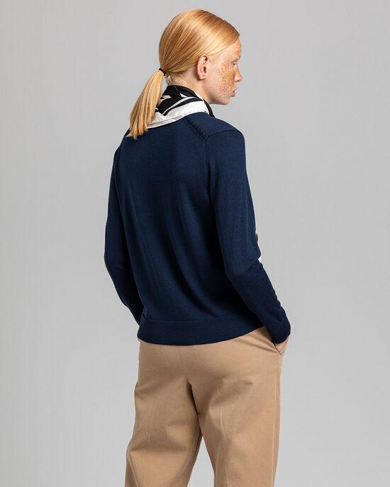 Vest van wasbare merinoswol
