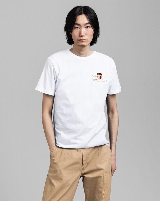 T-shirt brodé Archive Shield