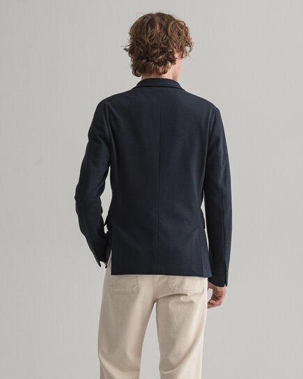 Veste blazer en jersey à motif Mini