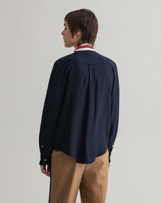 Signature blouse met strikje