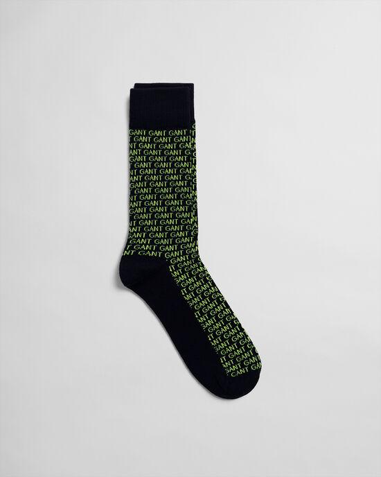 Intarsia sokken
