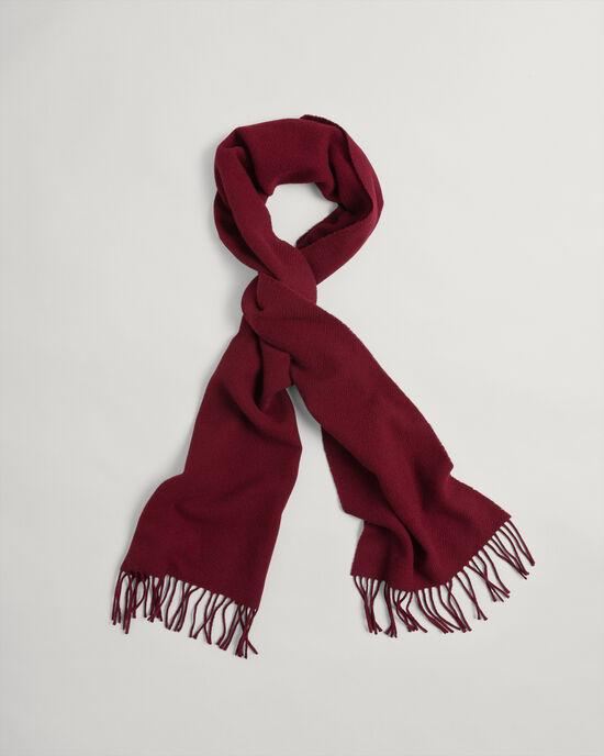 Écharpe en sergé de laine