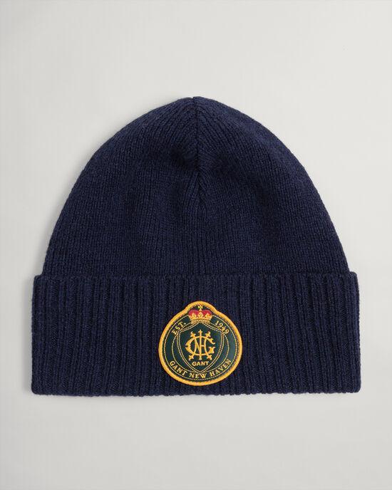 Bonnet en laine Royal Crest