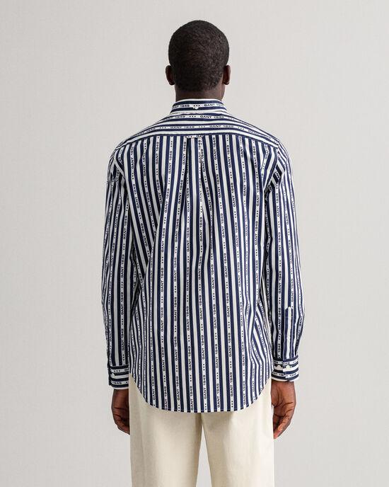 Regular Fit gestreept hemd met 1949