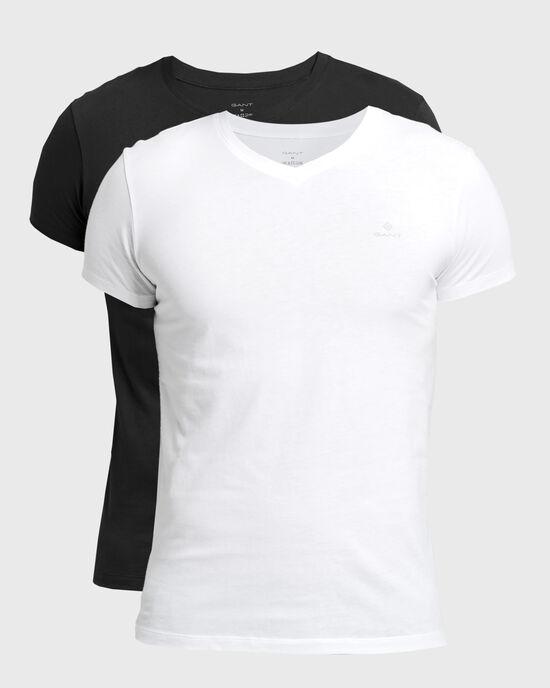 Lot de 2t-shirts col V