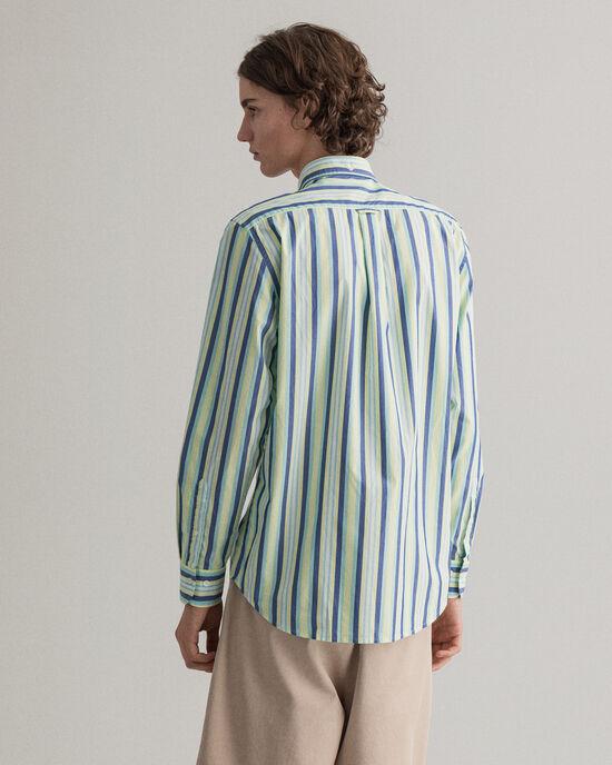 Regular Fit Tech Prep™ gestreept hemd