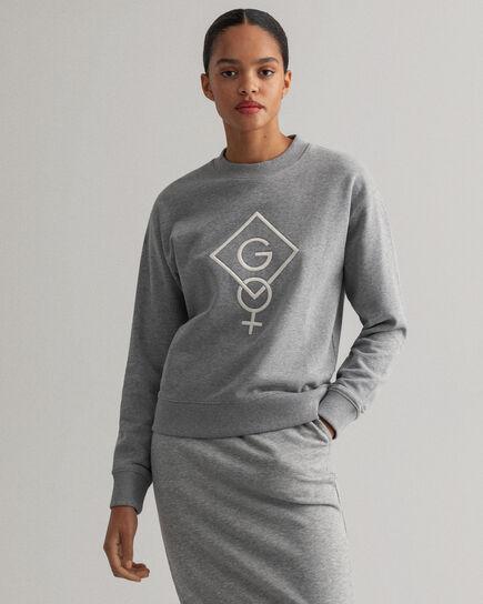 Sweat-shirt ras du cou Graphic Logo