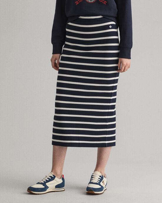 Jersey rok met Bretonse streep