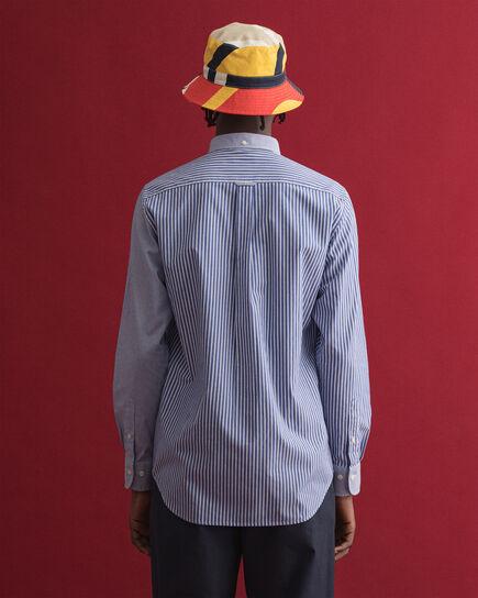 Chemise regular fit à empiècements variés