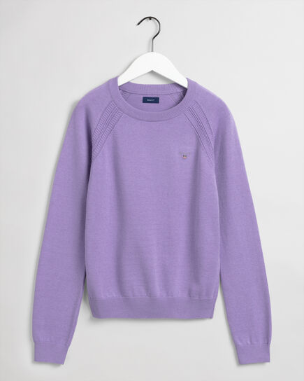 Teen Girls Crew Neck Sweater