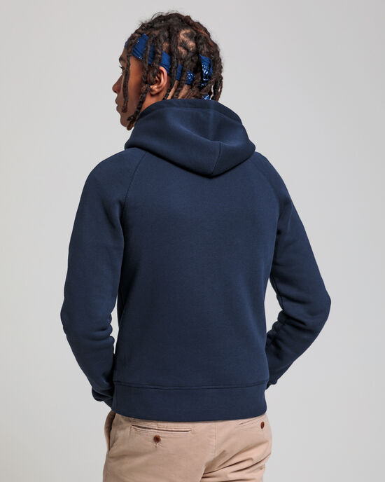 Teens Logo hoodie van sweatstof