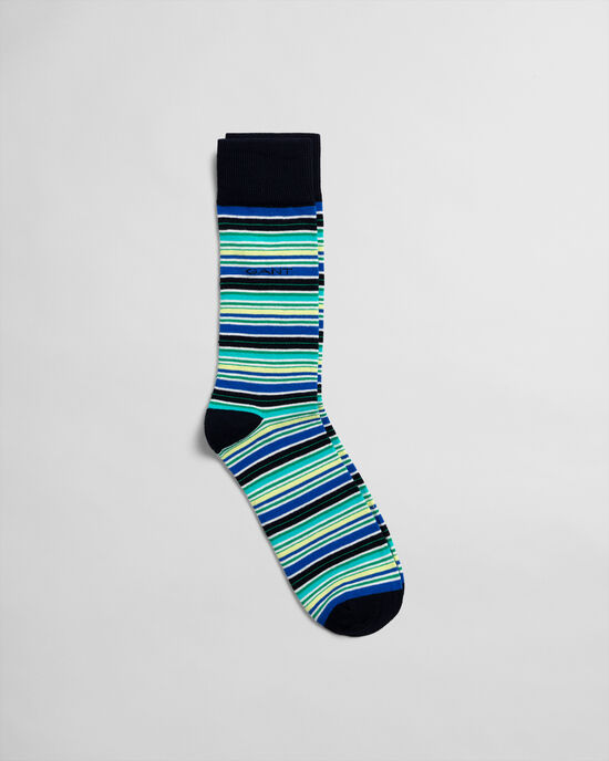 Chaussettes à multiples rayures