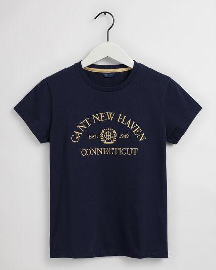 T-shirt Monogram Teen Girls