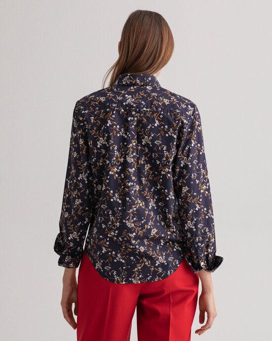 Rose Bud-print hemd