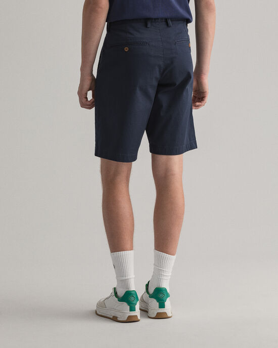 Relaxed Fit short van keperstof