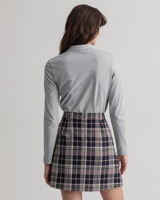 Polo en coton piqué à manches longues Original