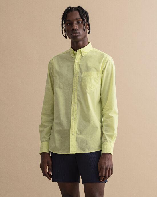 Regular Fit Sunfaded hemd