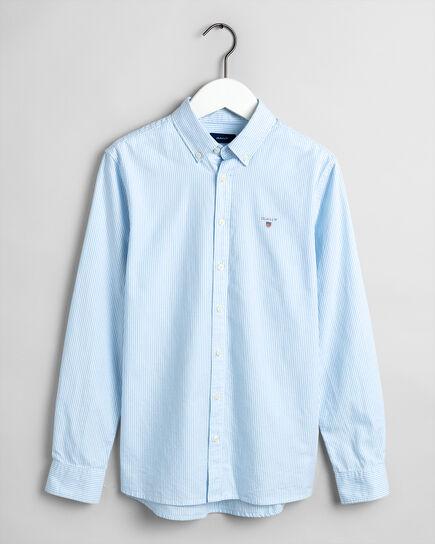 Chemise en coton Oxford à rayures Archive Teen Boys