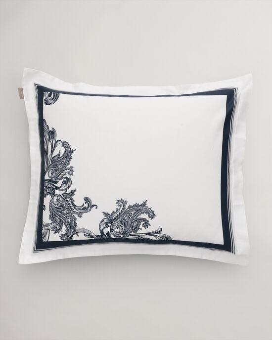 Crown kussensloop met paisley-ontwerp
