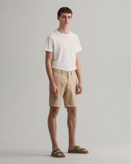Regular Fit Sunfaded Short