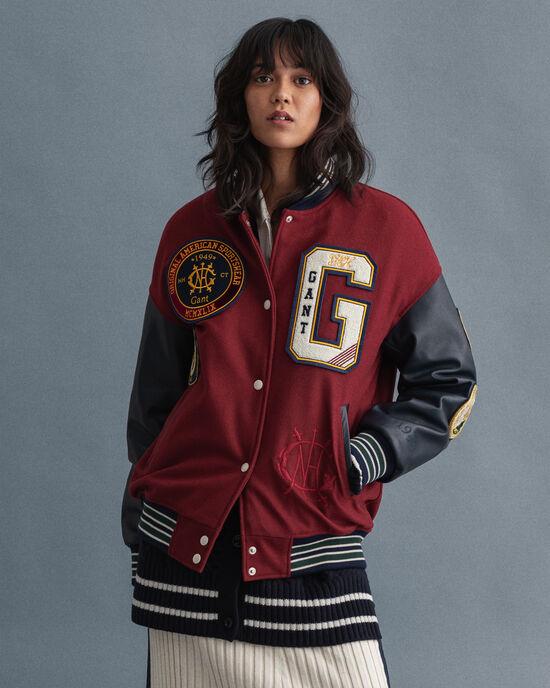 Veste GANT Varsity Jacket US Royalty
