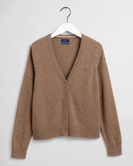Cardigan en laine d'agneau ultrafine