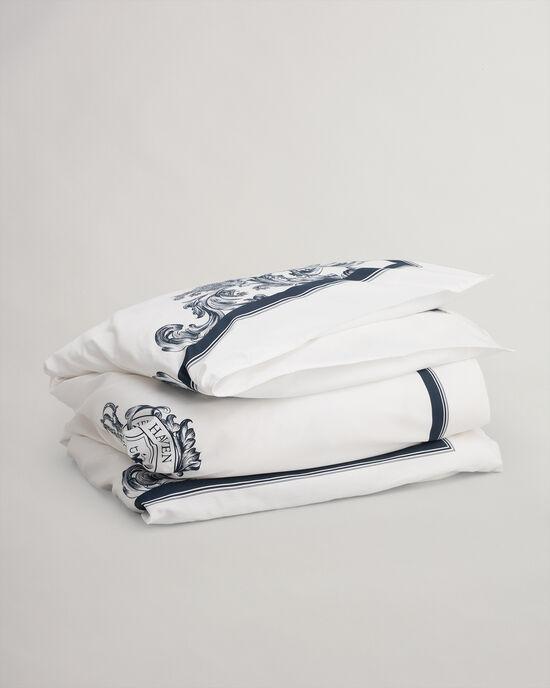 Housse de couette simple à motif cachemire Crown