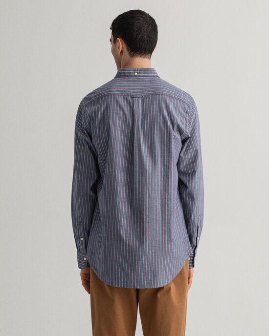 Regular Fit gestreept Oxford-hemd