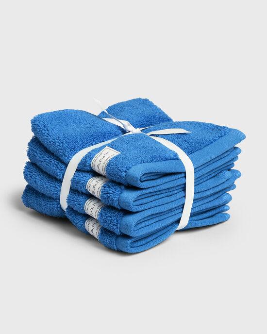 Set van vier Premium handdoeken 30 x 30 cm