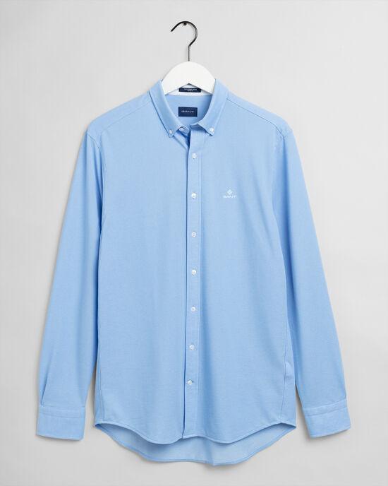 T-shirt regular fit en coton piqué Tech Prep™