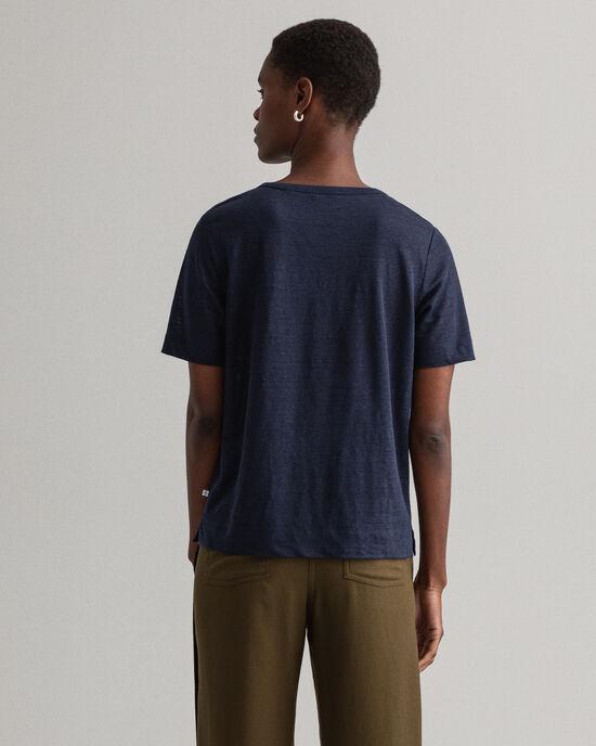 Linnen T-shirt