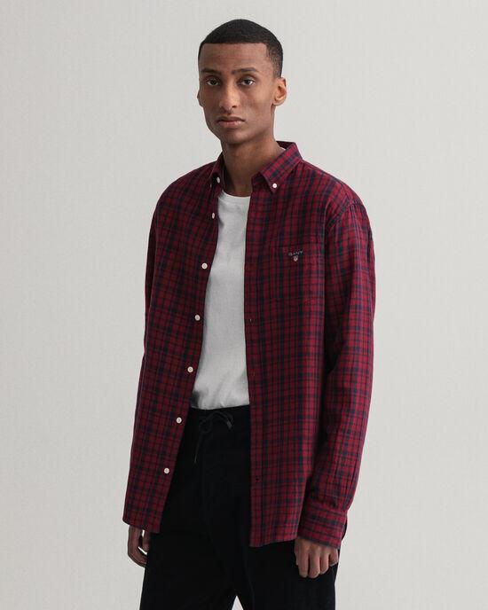 Regular Fit dubbelzijdig flanellen hemd