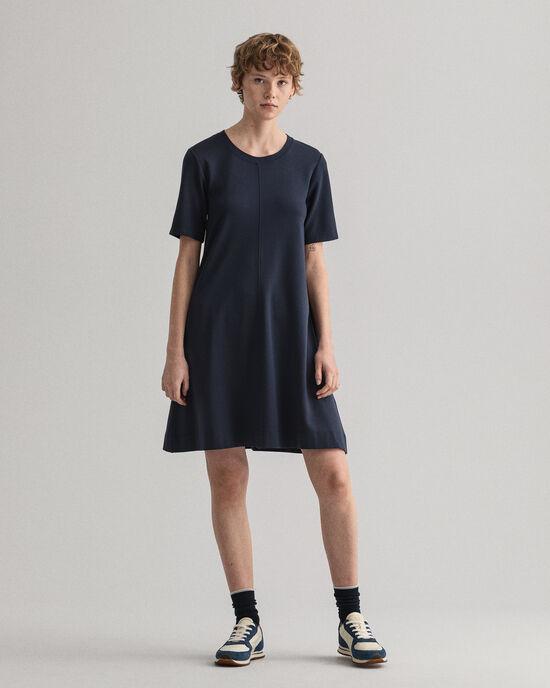 A-lijn jersey jurk