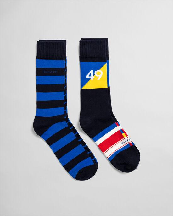 Set van twee paar Rough Weather sokken in cadeauverpakking