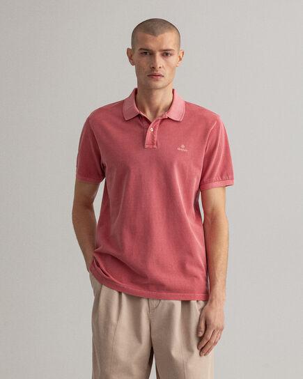 Polo Rugger en coton piqué Sunfaded