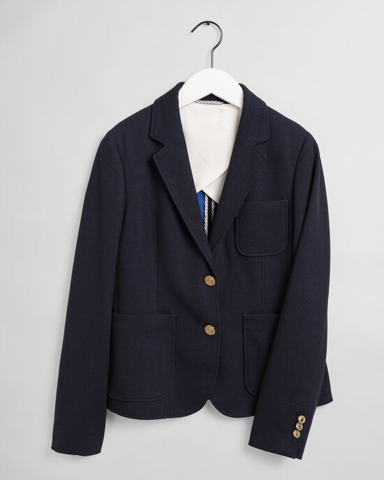 Slim Fit Tech Prep™ jersey piqué blazer