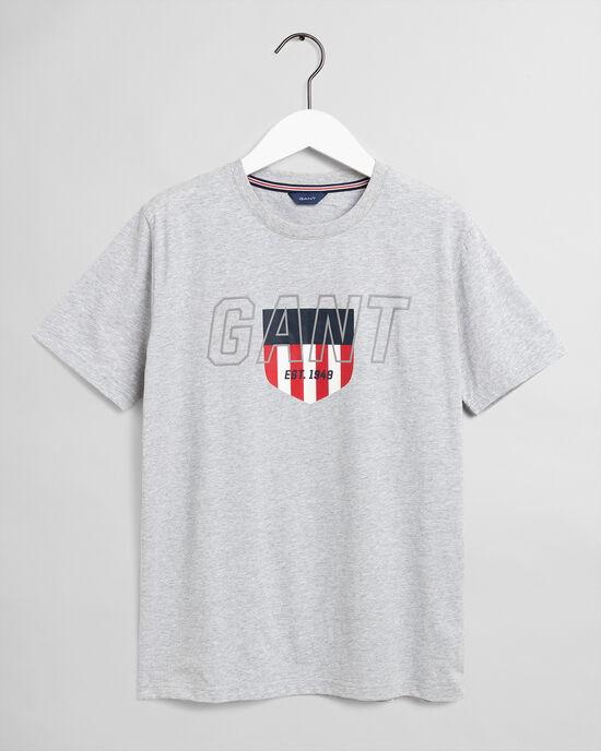 T-shirt Sporty Shield Teens