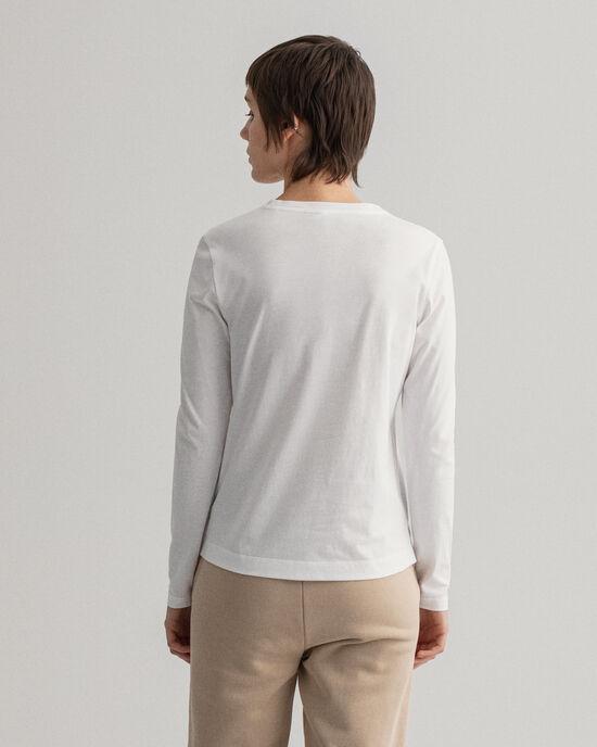 Original T-shirt met lange mouwen