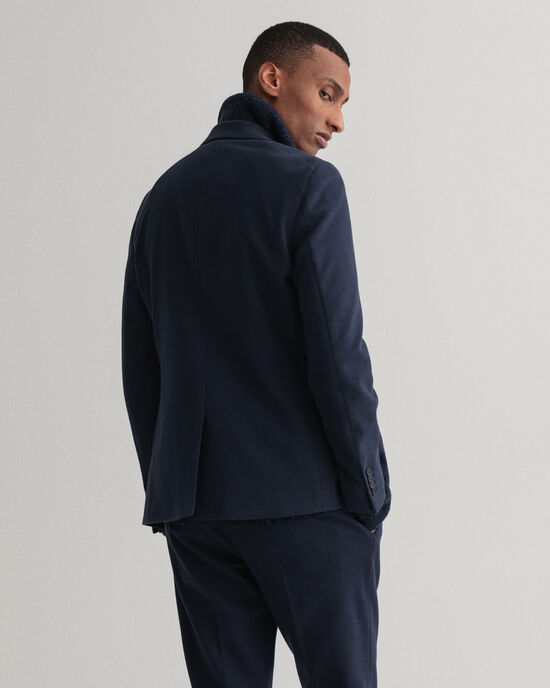 Jersey kostuumblazer