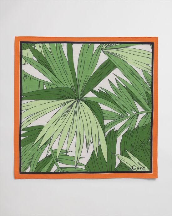 Pochet met Garden-print