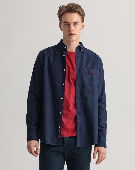 Regular Fit speciaal geverfd Oxford-hemd