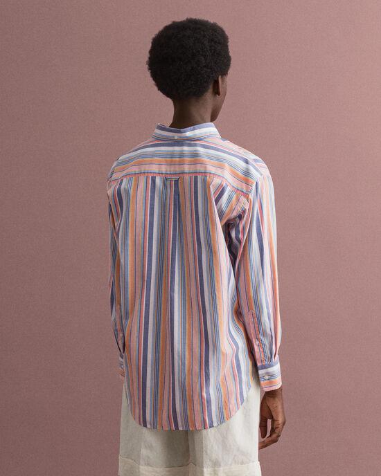 Pinpoint Oxford-hemd met kleurige strepen