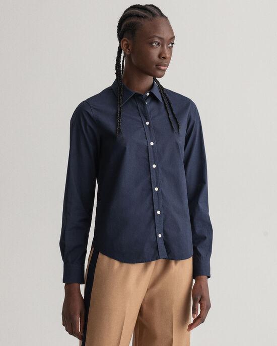 Poplin hemd
