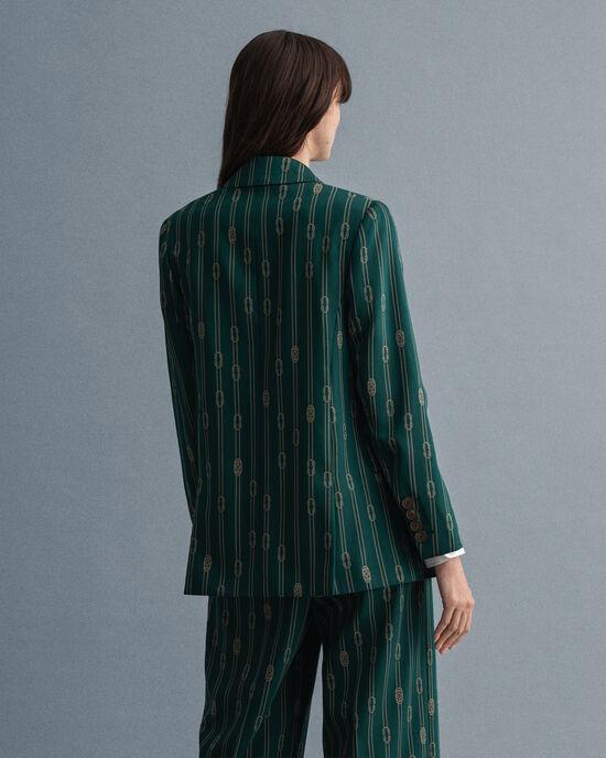 Veste blazer à boutonnage croisé Rope Design