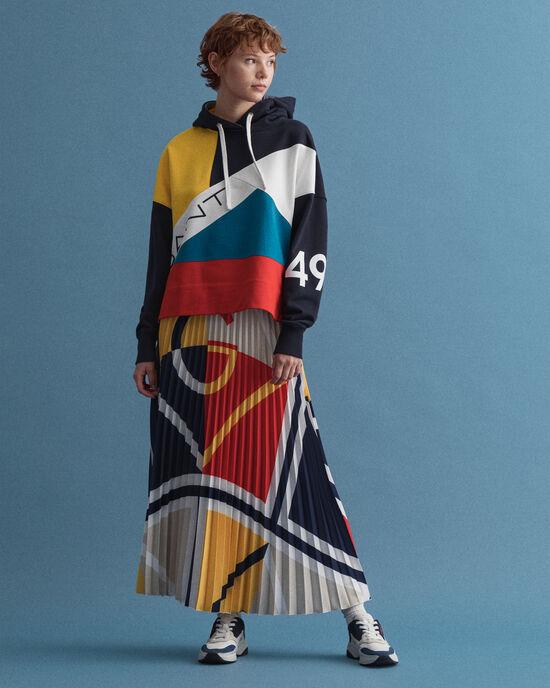 Iconic G rok met kleurblok